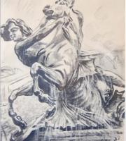 Carboncino cavallo