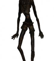 Ragazzo africano (bronzo)