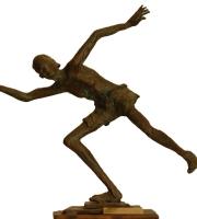 Il lanciatore (bronzo)